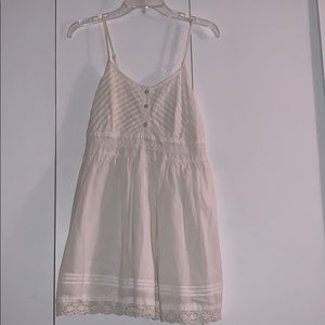 NWT Adorable white sundress!